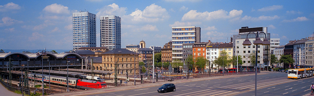 Mainz, Hauptbahnhof, Bonifatius-Türme