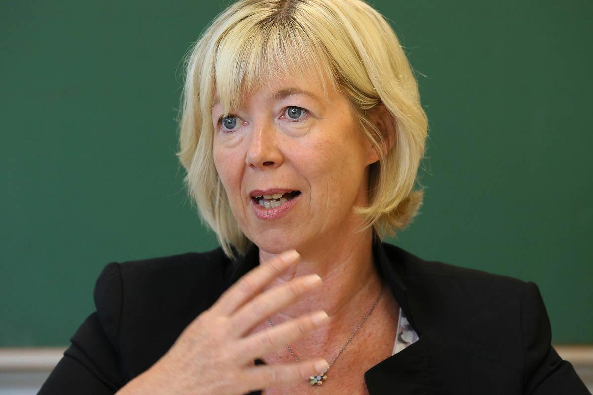 Kultusministerin  Doris Ahnen