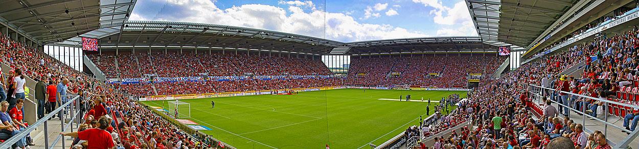 Mainz, Coface Arena, Innenansicht
