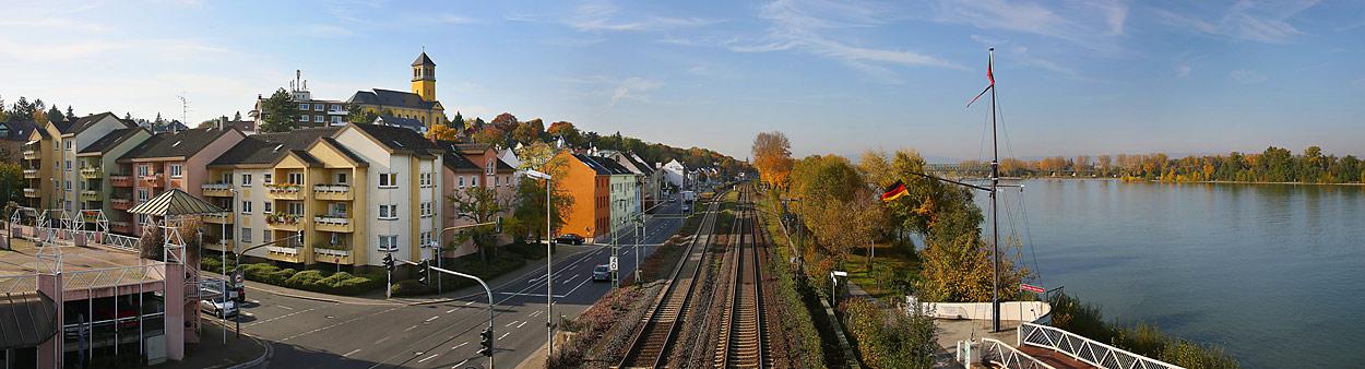 Mainz, Weisenau und der Rhein