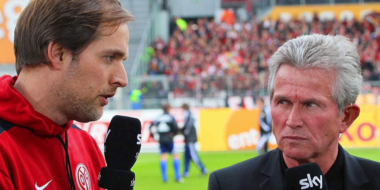 Fussball Bundesliga, Mainz 05, Thomas Tuchel, Jupp Heynkes