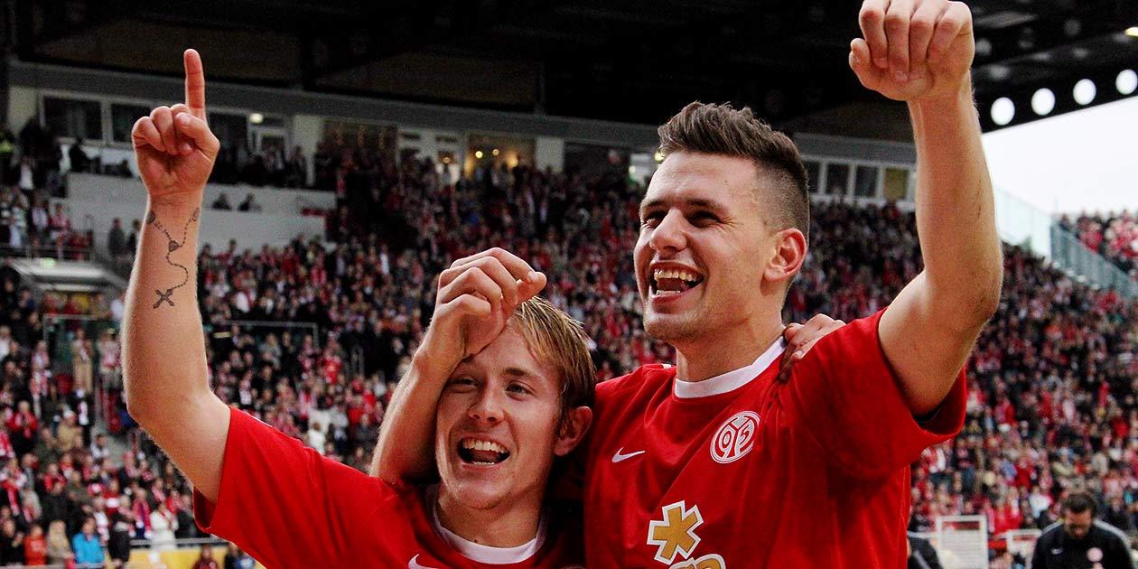 Fussball Bundesliga, Mainz 05, Lewis Holtby, Adam Szalai