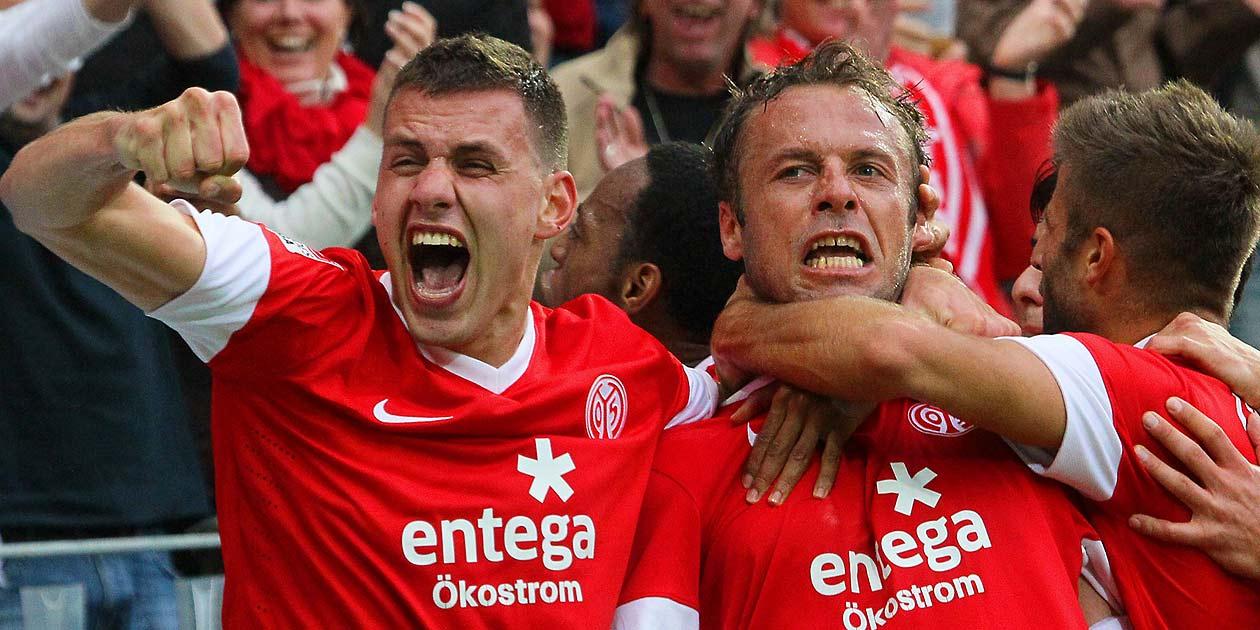 Fussball Bundesliga, Mainz 05, Adam Szalai, Nicolce Noveski
