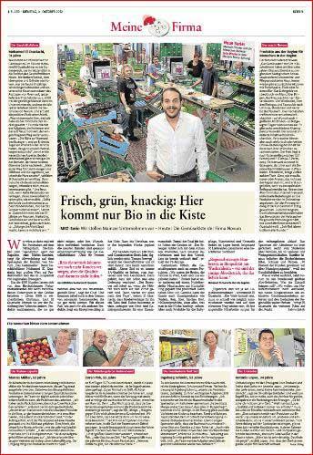 Firmenreportage, Naturkostlieferant Novum ,Rheinzeitung, Fotos: Bernd Eßling, Bildjournalist, Fotograf, Mainz