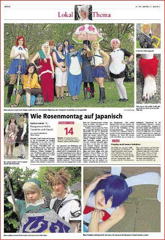 ,Manga-Party in Mainz-Kastel, wie Rosenmontag auf japanisch, Rheinzeitung, Fotos: Bernd Eßling, Fotograf, Mainz