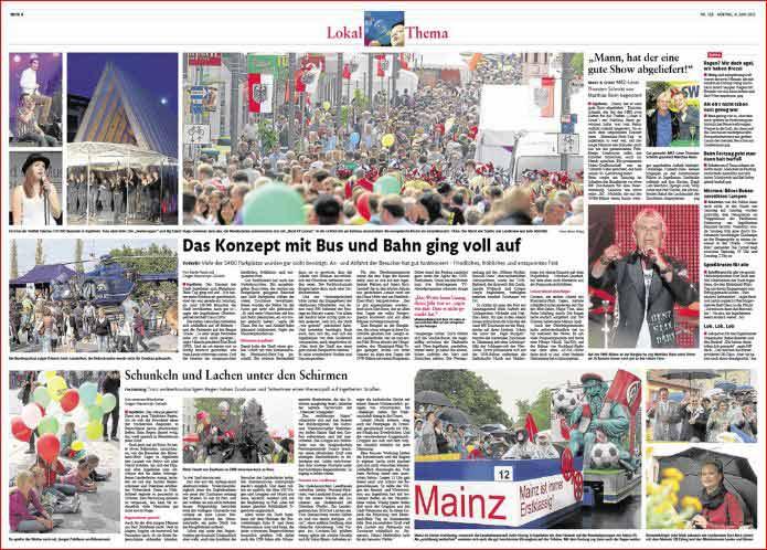 Reportage Rheinland-Pfalz-Tag Ingelheim ,Rheinzeitung, Fotos: Bernd Eßling, Bildjournalist, Fotograf, Mainz