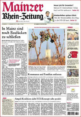 Bodenheim, Rheinhessen, Weinreben, Weintrauben, Rhein-Zeitung ,Foto: Bernd Eßling, Bildjournalist, Fotograf, Mainz