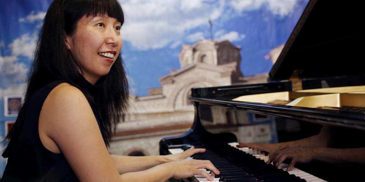 Pianistin Masako Sakai , Piano Summer Ohrid