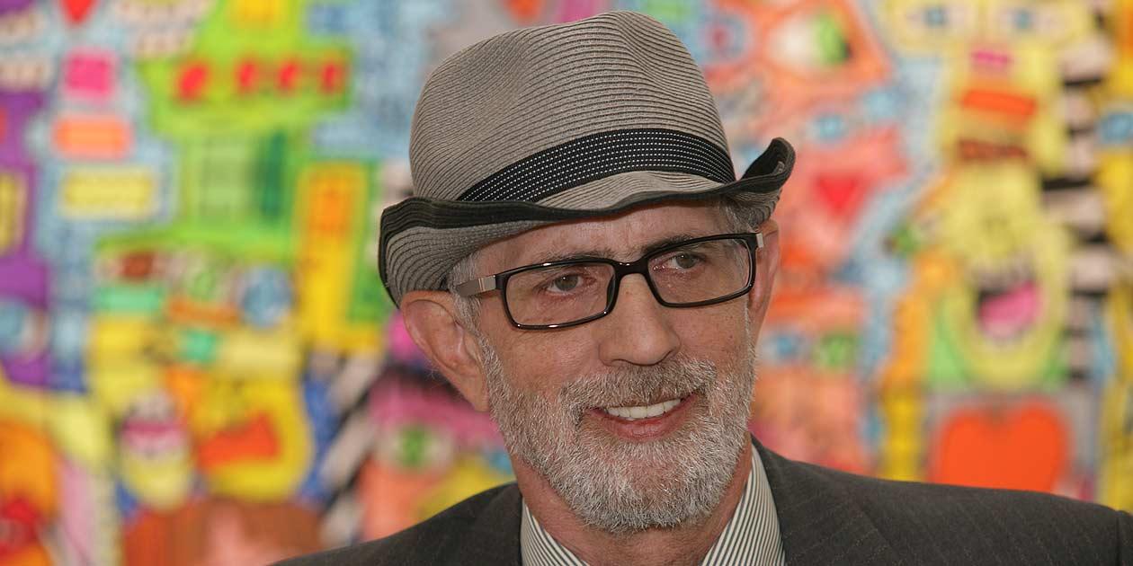 Maler und Künstler James Rizzi, Foto: Bernd Eßling, Bildjournalist, Fotograf, Mainz