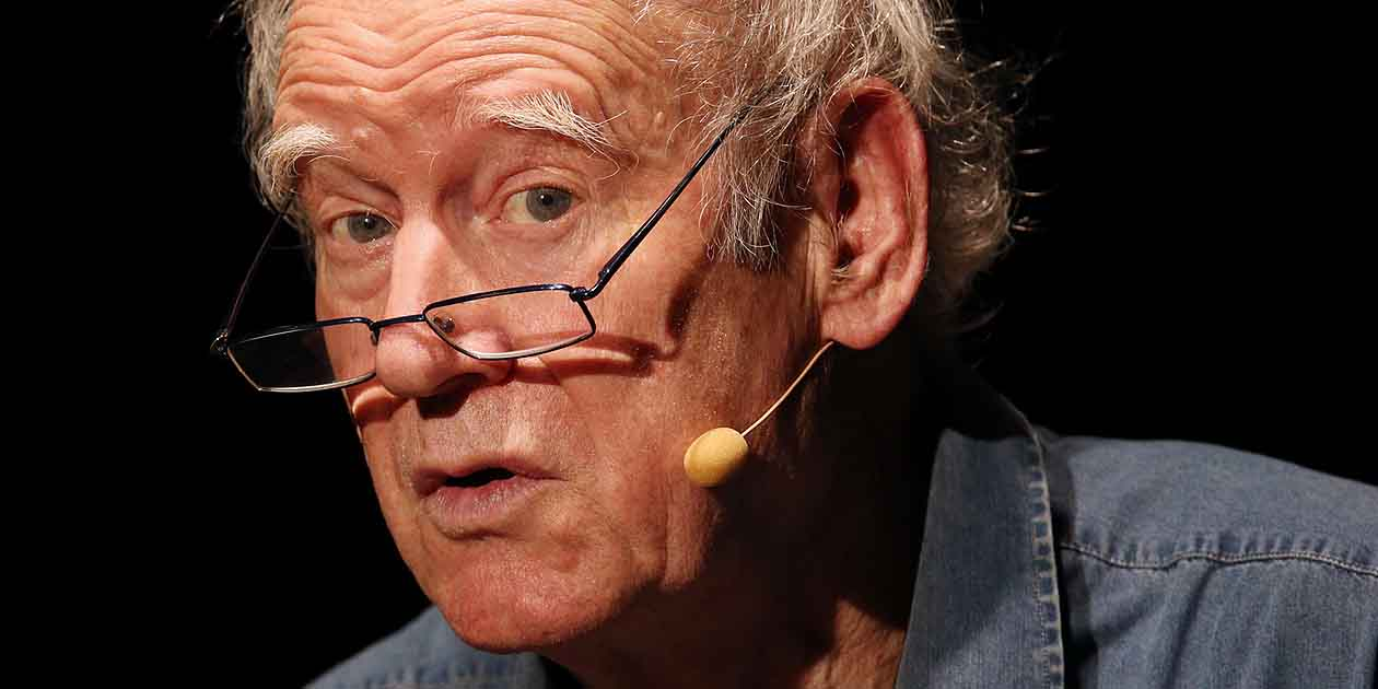 Kabarettist Franz Hohler im Unterhaus