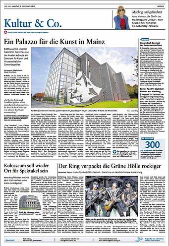 Cadoro, Kunst in Mainz ,Rhein-Zeitung, Foto: Bernd Eßling, Bildjournalist, Fotograf, Mainz