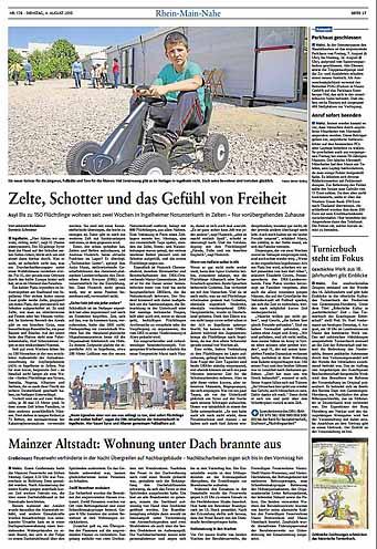 Erstunterkunft für Flüchtlinge ,Rhein-Zeitung, Fotos: Bernd Eßling, Bildjournalist, Fotograf, Mainz