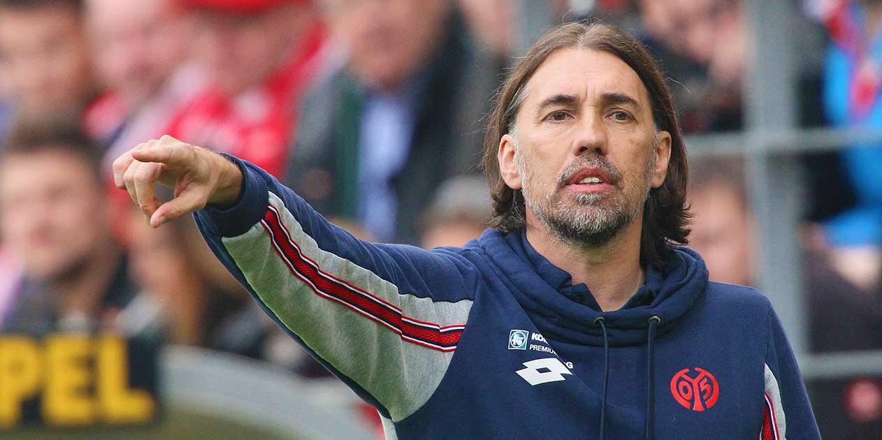 1.FSV Mainz 05 - SV Werder Bremen Trainer Martin Schmidt Fussball Bundesliga