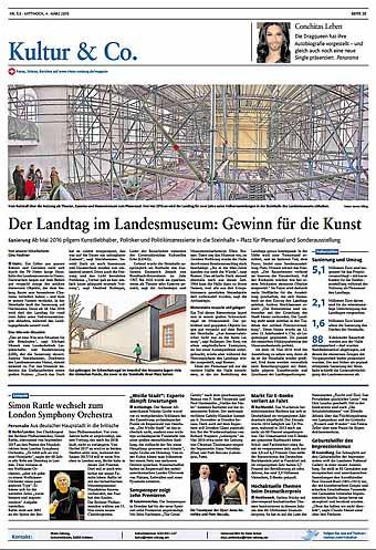 Landtag, Landesmuseum, Steinhalle ,Rheinzeitung, Fotos: Bernd Eßling, Bildjournalist, Fotograf, Mainz